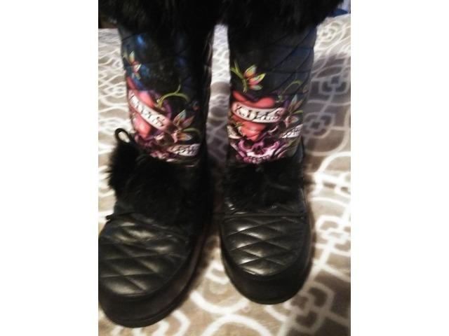 89836082c953e8 Ed Hardy winter boots